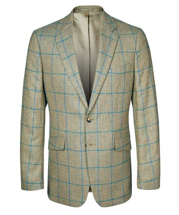 Sports Jacket - Green/Blue
