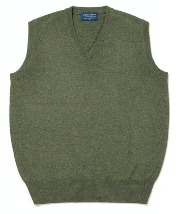 Lambswool - Slipover - Green
