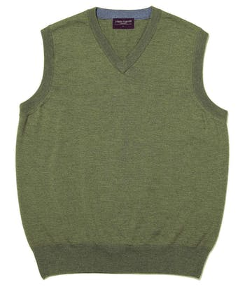 Merino - Slipover - Green