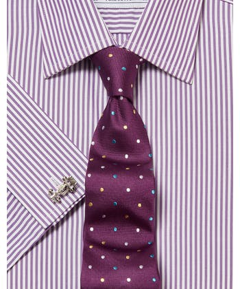 Purple Bengal Stripe Shirt