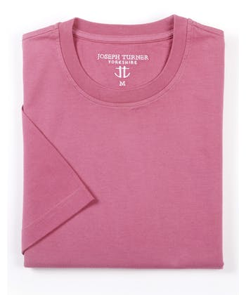 Cotton T-Shirt - Rose