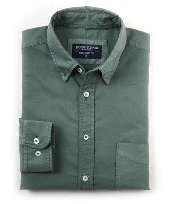Plain Oxford Shirt - Sage