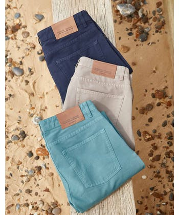 Canvas Jeans - Putty