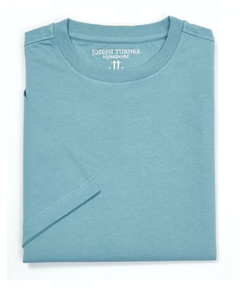 Cotton T-Shirt - Slate Green