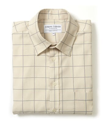 Needlecord Shirt - Stone