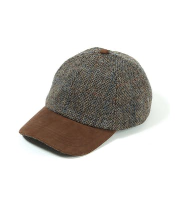 Peaked Cap - Blue/Grey
