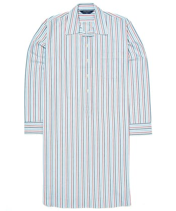 Nightshirt - Blue/Magenta (Brushed)
