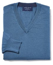 Merino Jumper - V Neck