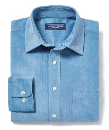 Needlecord Shirt - Blue