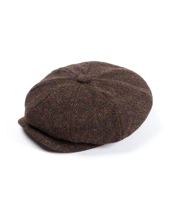 Newsboy Cap - Brown