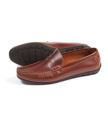 Goodwood Driving Loafer - Brown
