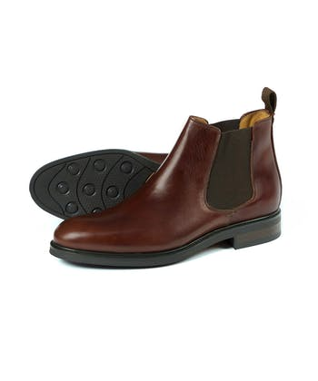Chalfont Boot - Brown Leather