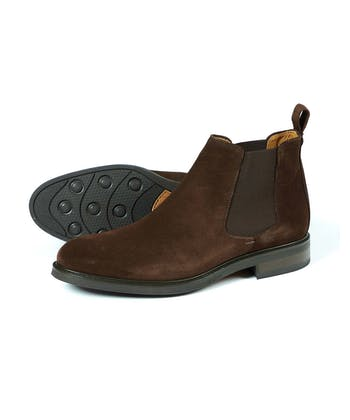 Chalfont Boot - Brown Suede