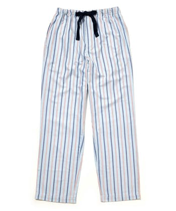 Pull-on Bottoms - Blue/Red Stripe (Brushed)
