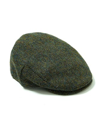 Flat Cap - Dark Green