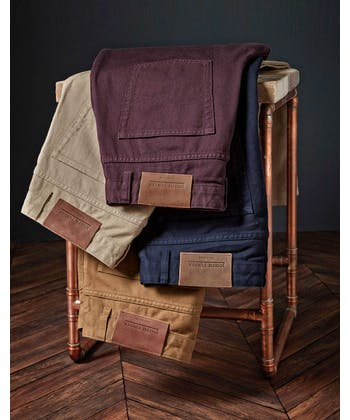 Twill Jeans - Fig