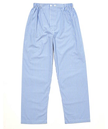 Pull-on Bottoms - Blue/White Stripe (Fine Cotton)