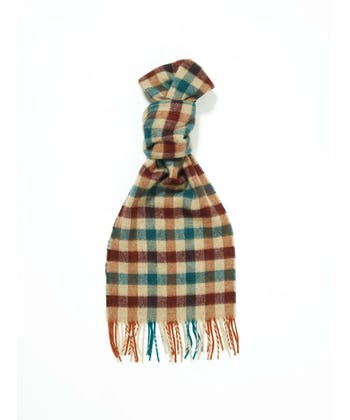 Lambswool Scarf - Gingham