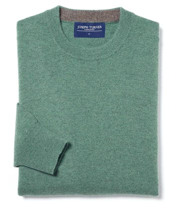 Cashmere Crew Neck - Soft Green