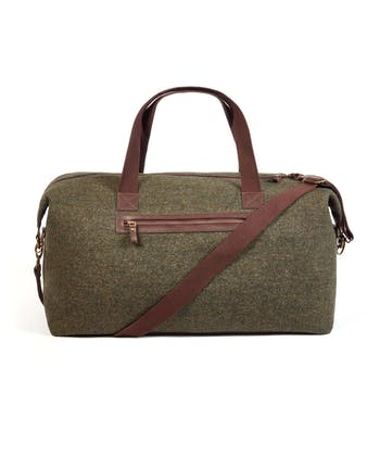 Travel Holdall - Green Donegal