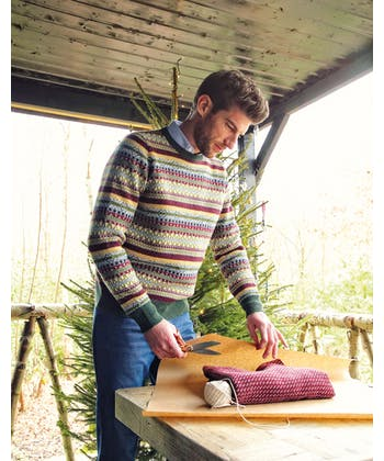 Fair Isle Jumper - Green