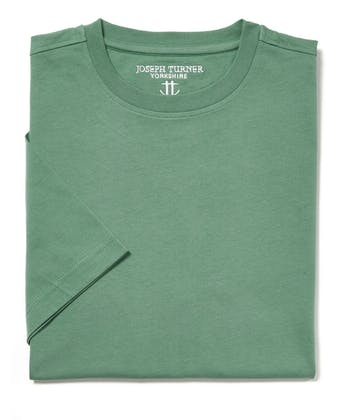 Cotton T-Shirt - Green