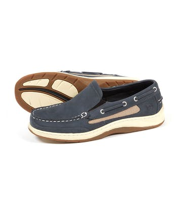 Largs Deck Shoe - Navy