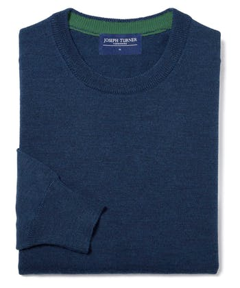 Merino Jumper - Crew Neck - Winter Navy