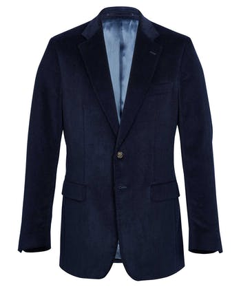 Needlecord Jacket - Navy