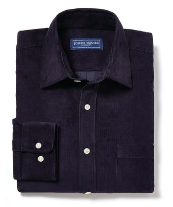 Needlecord Shirt - Dark Navy