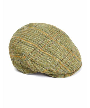 Flat Cap - Olive Green Waterproof