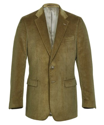 Malton Needlecord Jacket - Olive