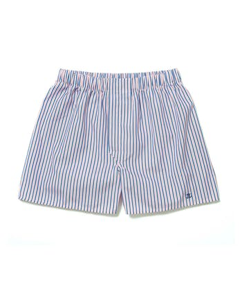 Boxer Shorts - Pink/Navy Stripe