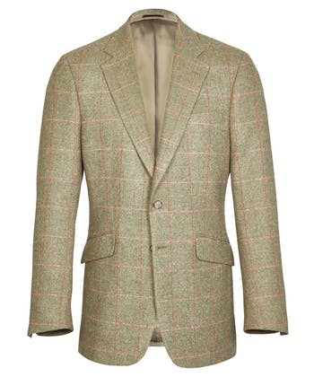 Tweed Jacket - Pink/Orange