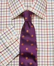 Red/Green/Purple Country Check Shirt