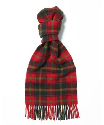 Lambswool Scarf - Red