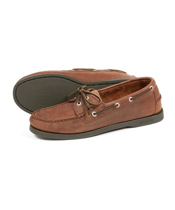 Creek Deck Shoes - Russet