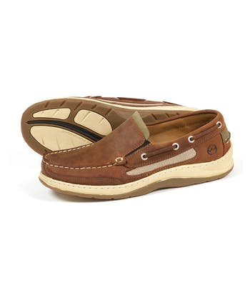 Largs Deck Shoe - Sand