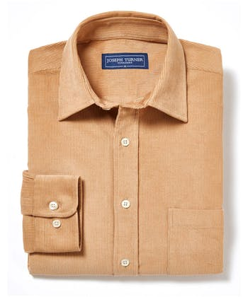 Needlecord Shirt - Sand