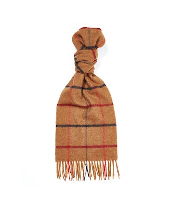 Lambswool Scarf - Tan