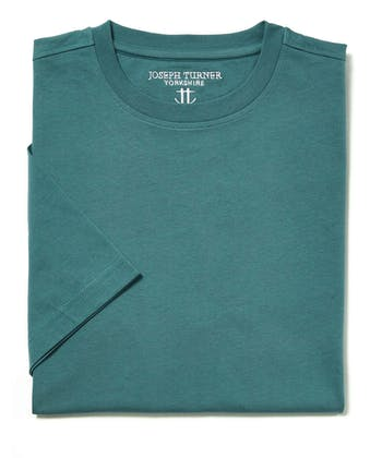 Cotton T-Shirt - Teal