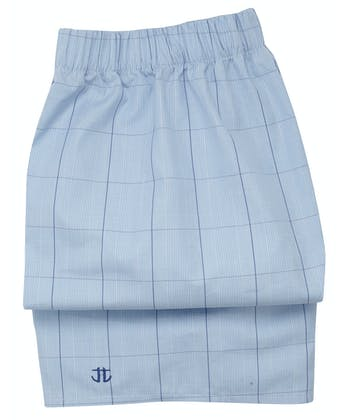 Boxer Shorts - Navy/Blue Prince of Wales